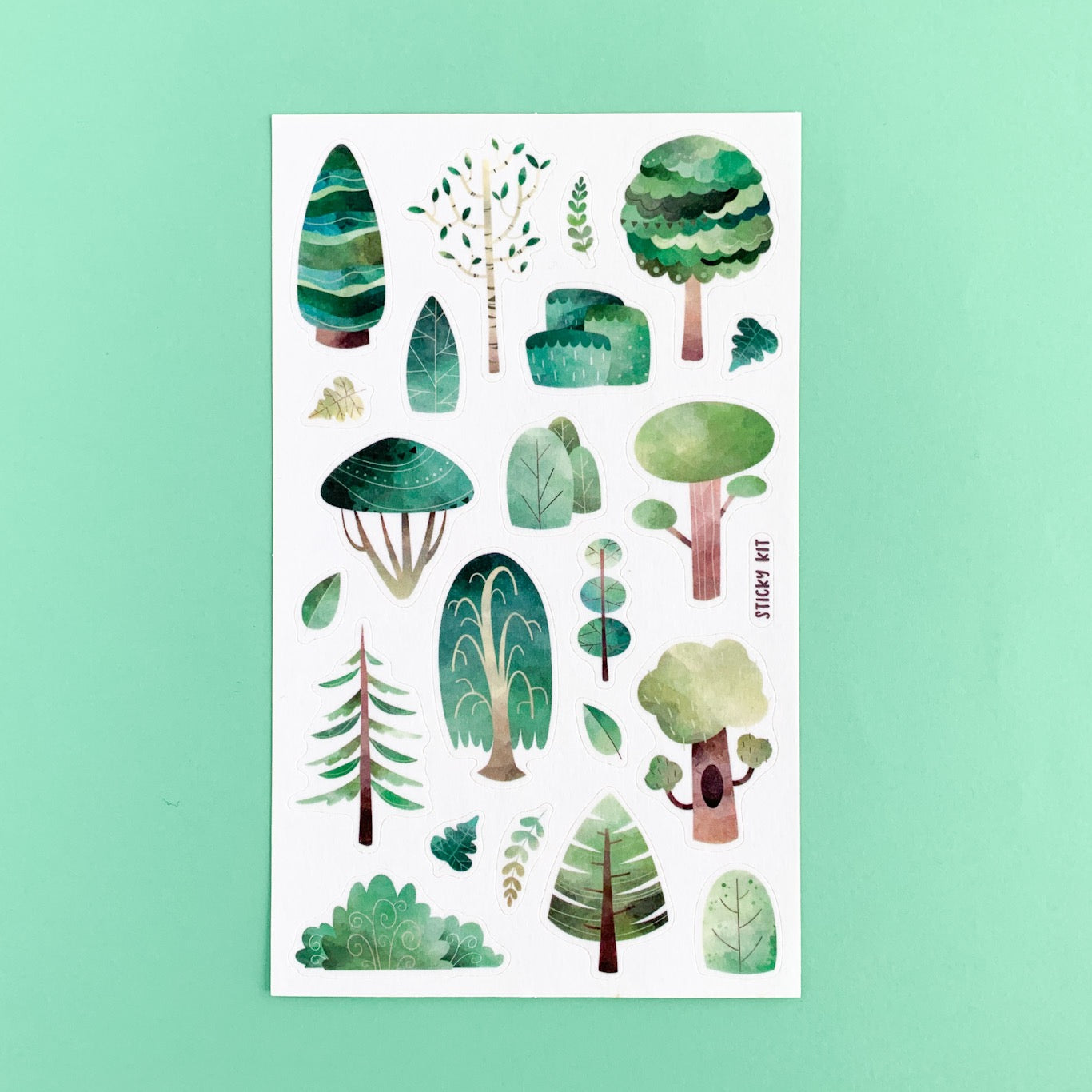 Trees Stickers