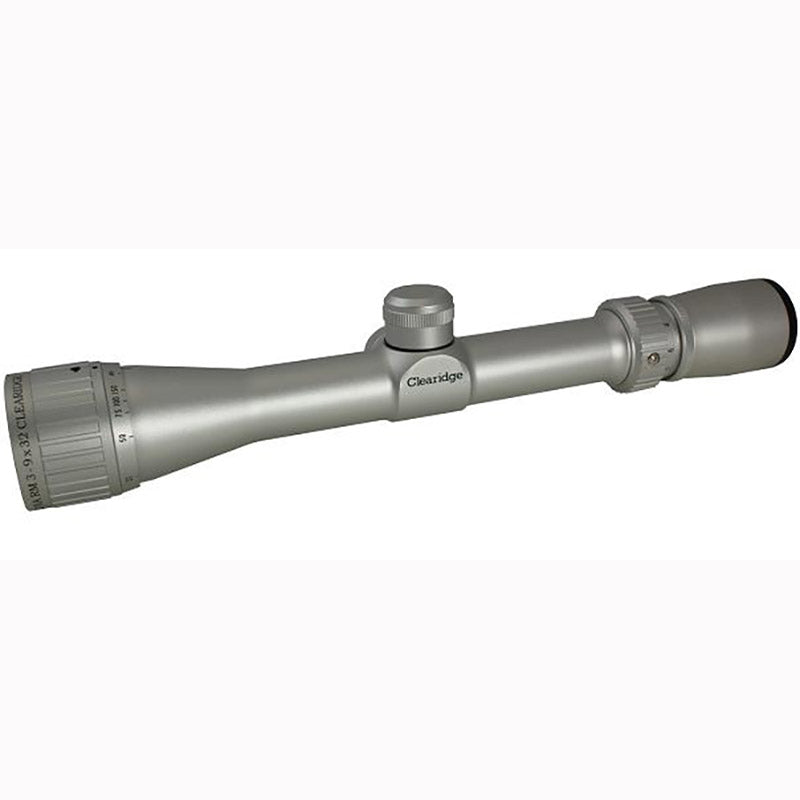 Clearidge Optics Ultra RM 3-9x32 Silver Riflescope - SharpShooter Optics