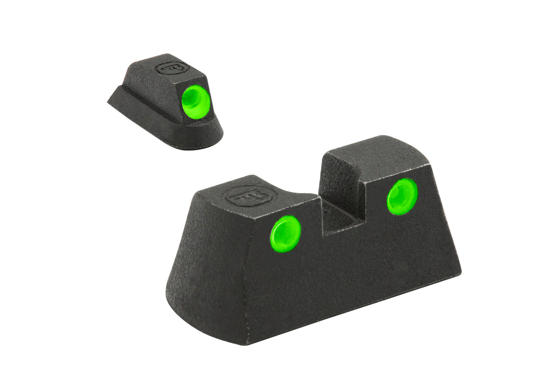 Meprolight Fixed Tru-Dot Night Sights for CZ P01 models - SharpShooter Optics