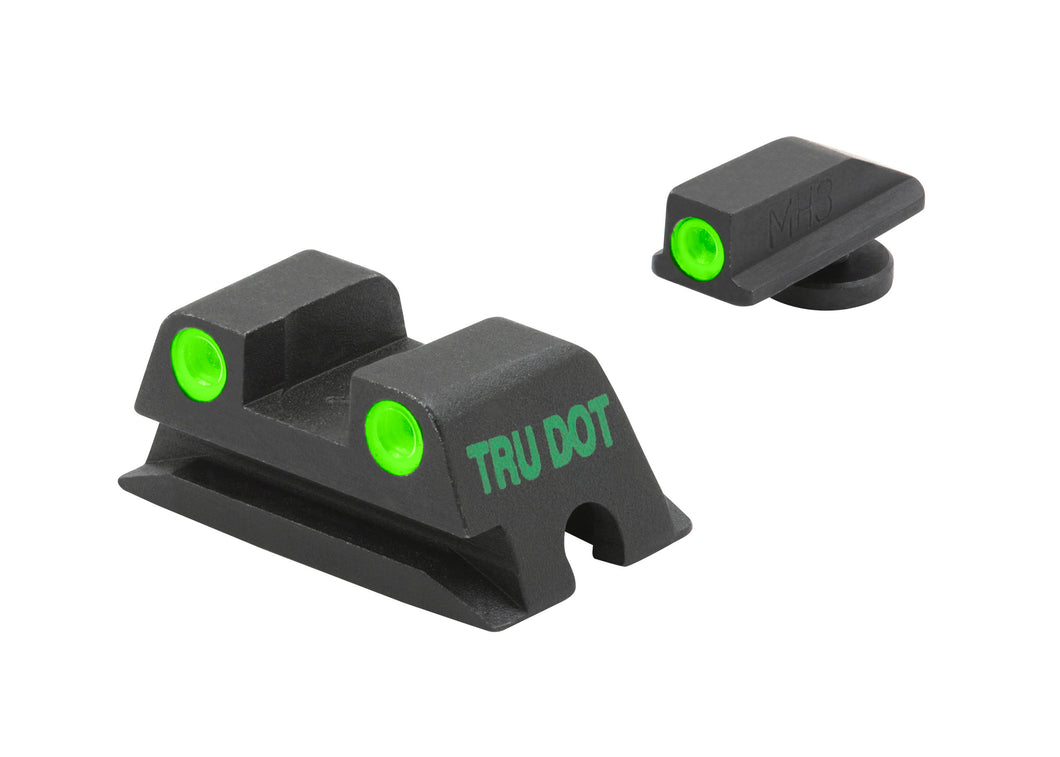Meprolight Fixed Tru-Dot Night Sights for Walther PPS, PPX - SharpShooter Optics