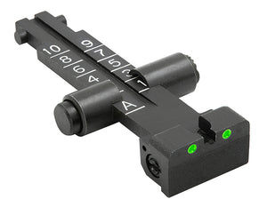 Meprolight Fixed Tru-Dot Night Sights for AK47 Rifles with 1000m scale - SharpShooter Optics