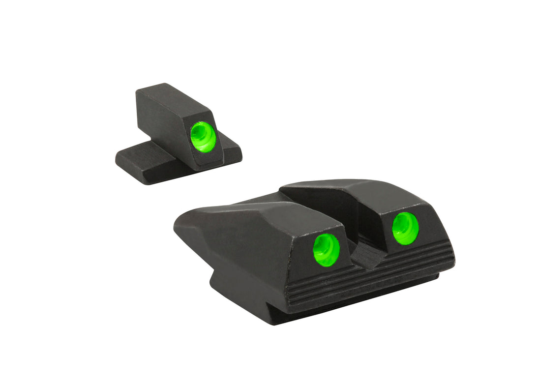 Meprolight Fixed Tru-Dot Night Sights for FN FNX/FNS 9mm & .40 S&W models - SharpShooter Optics