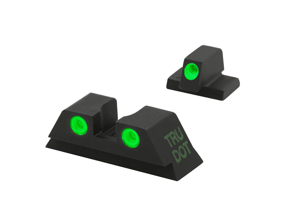 Meprolight Fixed Tru-Dot Night Sights for Canik TP Series models - SharpShooter Optics