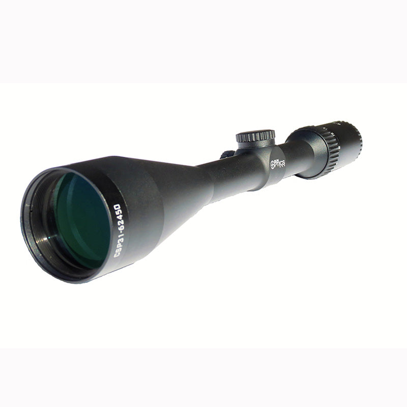 Sun Optics Hunter Plus II 6-24x50 mm BDC Scope, Low Profile Turrets - SharpShooter Optics
