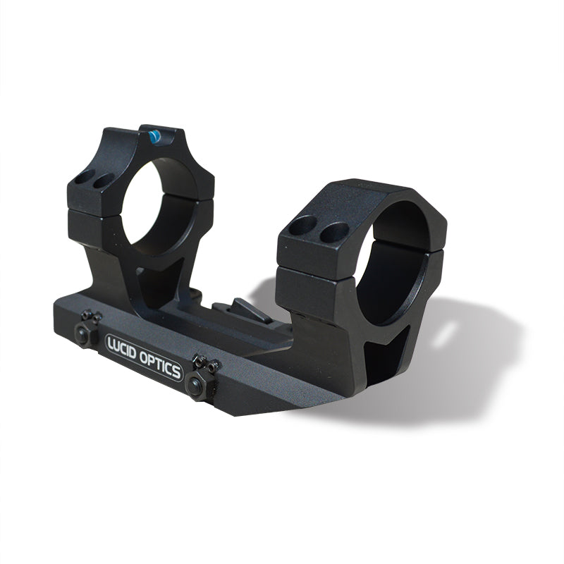Lucid Optics QD 30mm Cantilever Mount with Bubble Level - SharpShooter Optics