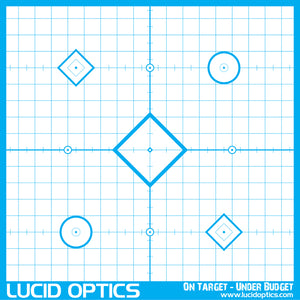 Lucid Optics Precision Sighting In Targets - Sharp Shooter Optics