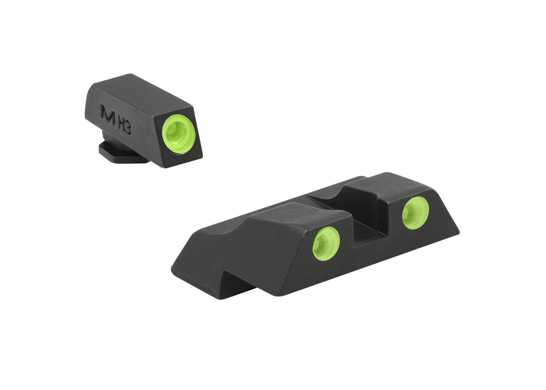 Meprolight Tru-Dot Night Sights for Glock models 26, 27, 28 - Sharp Shooter Optics