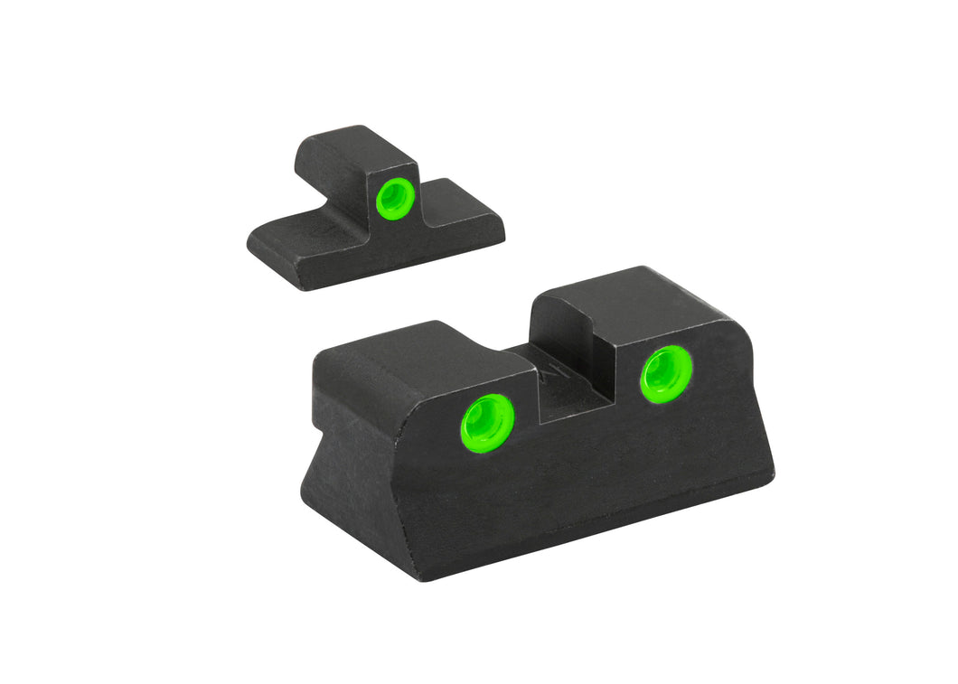 Meprolight Fixed Tru-Dot Night Sights for Browning Hi-Power Mark III - SharpShooter Optics