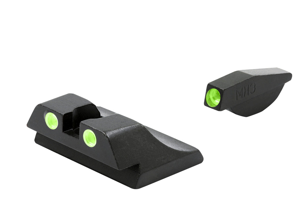 Meprolight Fixed Tru-Dot Night Sights for Ruger P89 - SharpShooter Optics