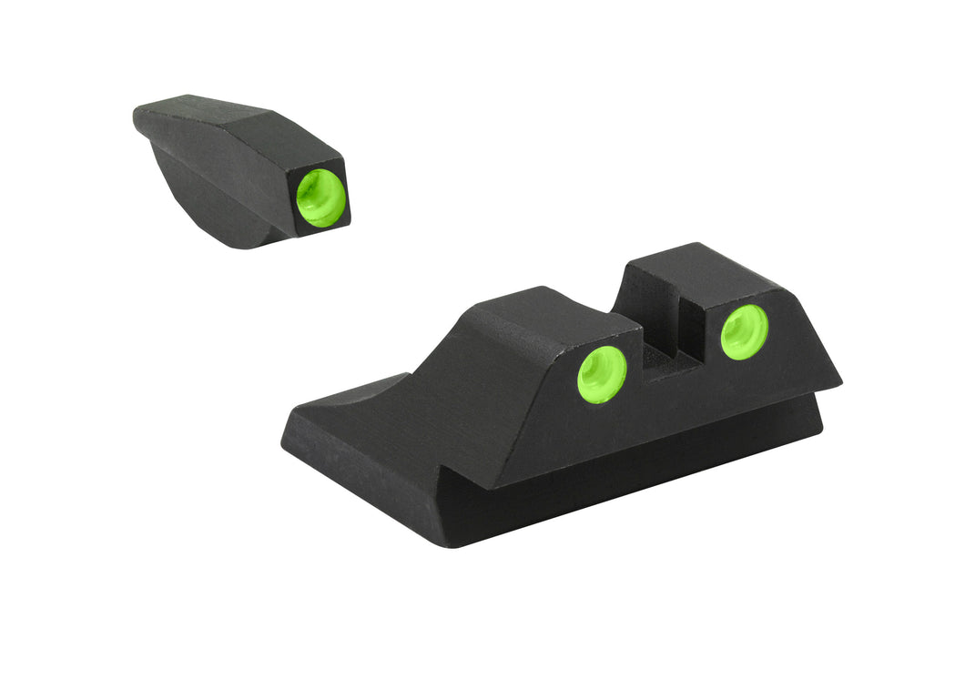 Meprolight Fixed Tru-Dot Night Sights for Ruger P90, P91, P93, P95 - SharpShooter Optics