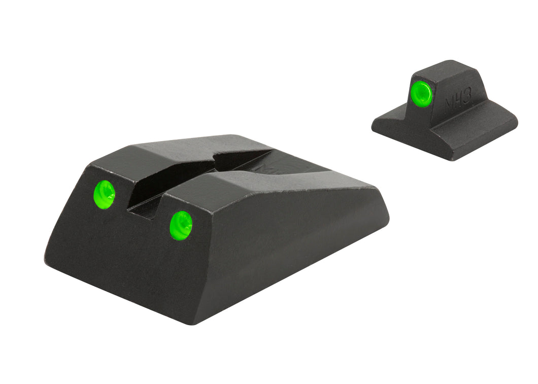 Meprolight Fixed Tru-Dot Night Sights for Ruger SR9, SR9C, SR40, SR40C - SharpShooter Optics