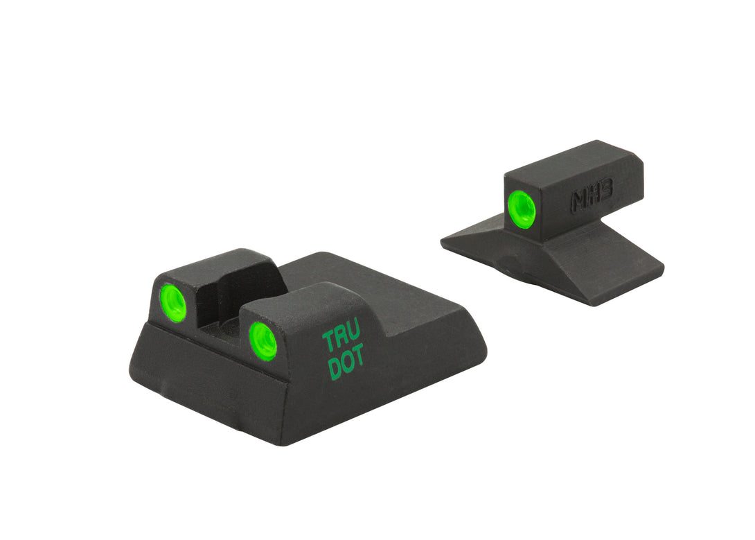 Meprolight Fixed Tru-Dot Night Sights for H&K P7M8, P7M10 - SharpShooter Optics