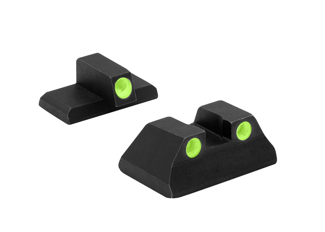 Meprolight Fixed Tru-Dot Night Sights for H&K P2000, P2000SK - SharpShooter Optics