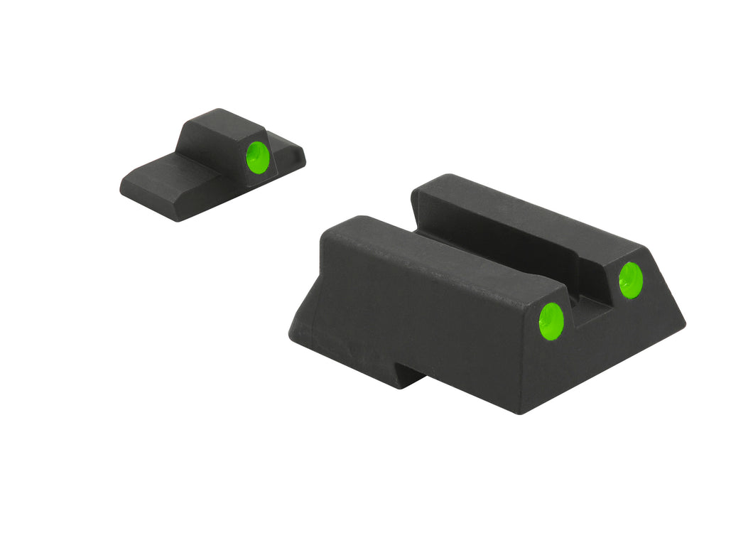 Meprolight Fixed Tru-Dot Night Sights for H&K 45/45 Compact/VP9/SFP9/P30/P30SK - SharpShooter Optics