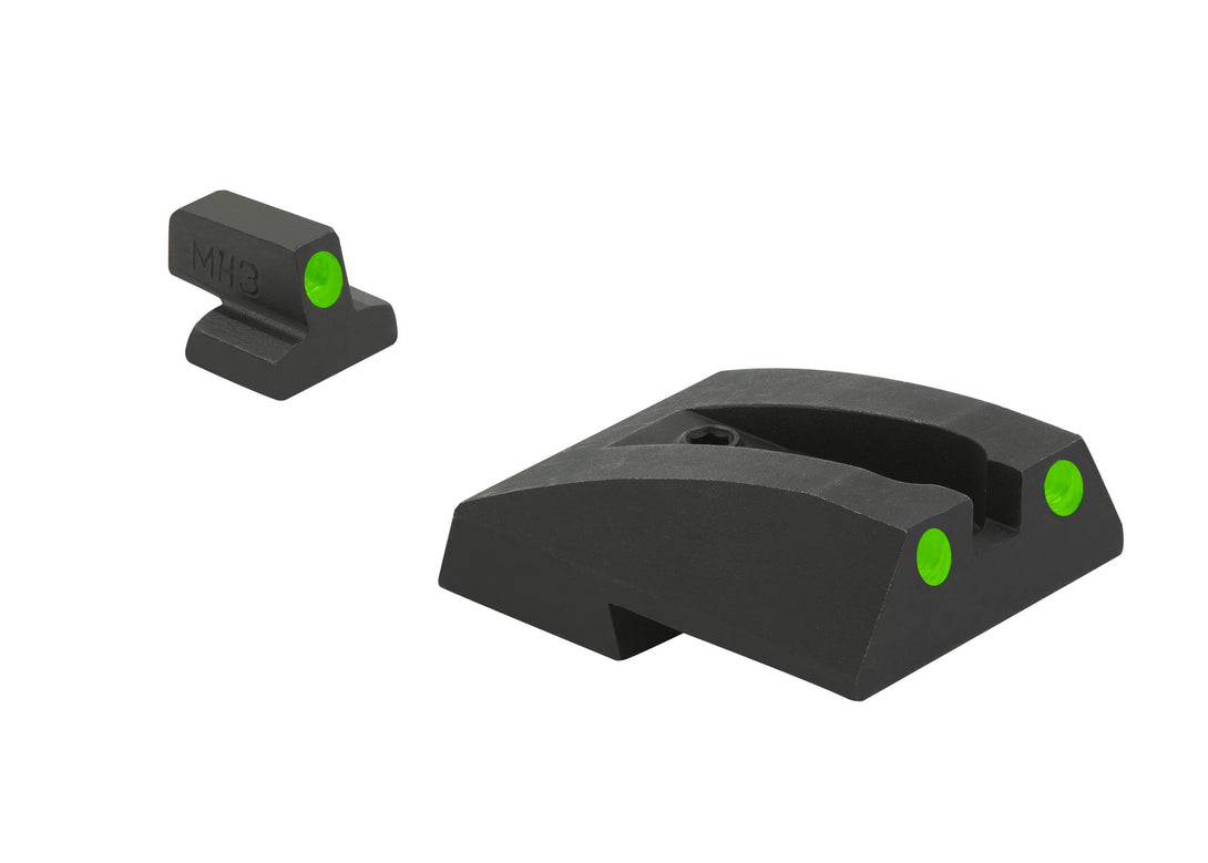 Meprolight Fixed Tru-Dot Night Sights for S&W 1911 Full-Size - SharpShooter Optics