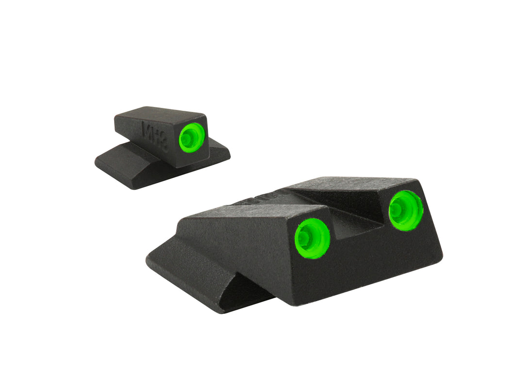Meprolight Fixed Tru-Dot Night Sights for S&W M&P Bodyguard - SharpShooter Optics