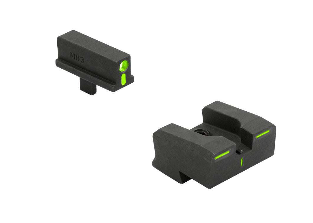 Mepro R4E Optimized Duty Sights 1911 Novak Style Narrow - SharpShooter Optics