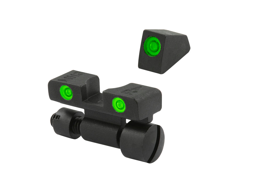 Meprolight Adjustable Tru-Dot Night Sights for S&W K, L, N REV - SharpShooter Optics