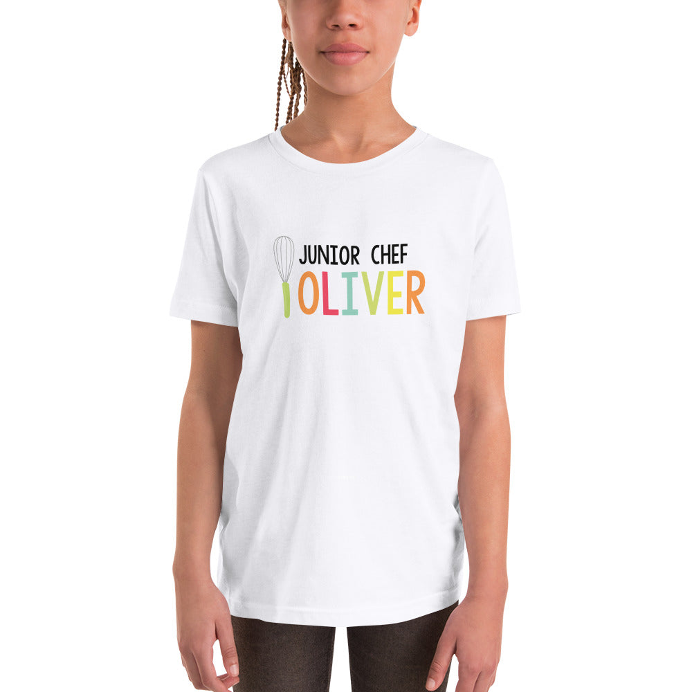 Youth Personalized Junior Chef Tee