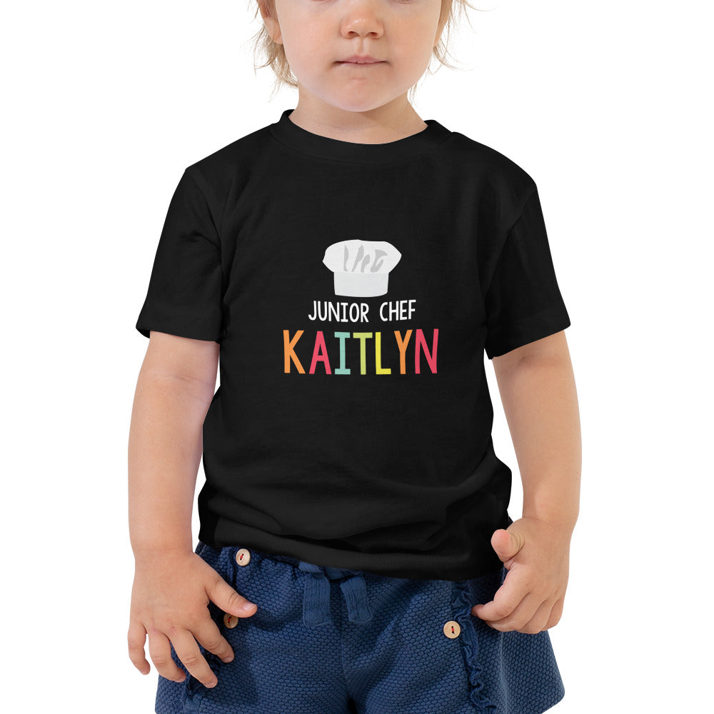 Toddler Personalized Junior Chef Tee