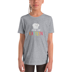 Youth Personalized Chef's Hat Tee (more colors available)