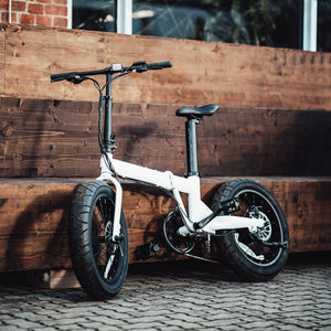 Uni Maxi Folding Electric Fat Wheel Bicycle Fatbike Foldbike 20 x 4.0 Urban E-Bike Electric Vehicle