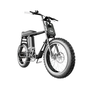UNI Bobber LT Electric Bike Black White with 250W and 20x4inch fat wheels