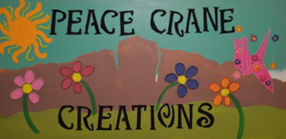 The Logo for Peace Crane Creations