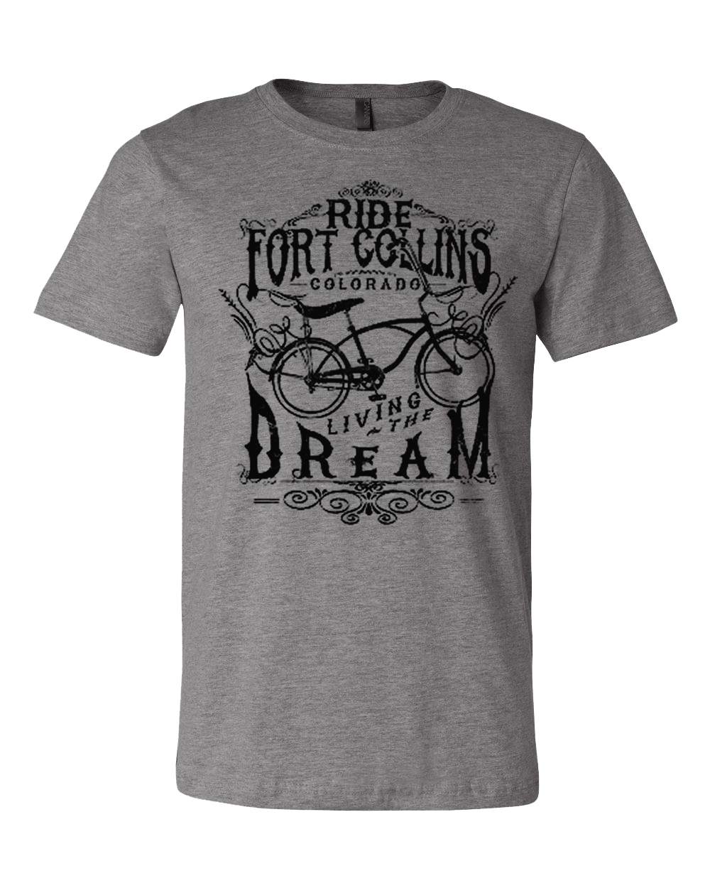 Fort Collins, CO Vintage Bike Shirt