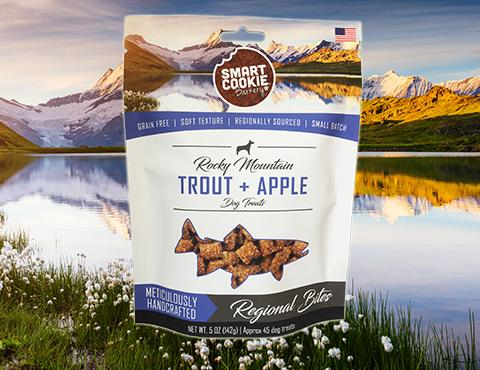 Rocky Mountain Trout + Apple Dog Treats
