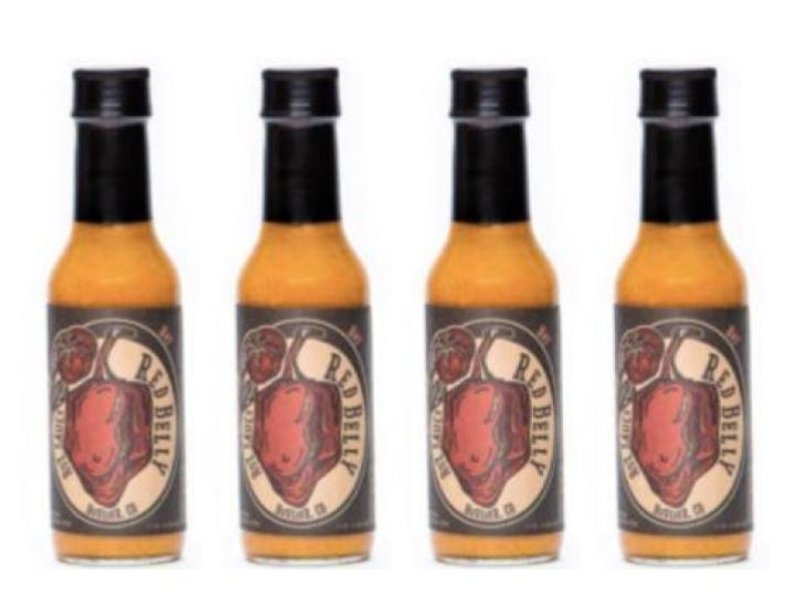Red Belly Hot Sauce - 4 Pack