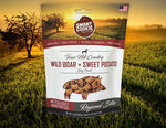 Texas Hill Country Wild Boar + Sweet Potato Dog Treats