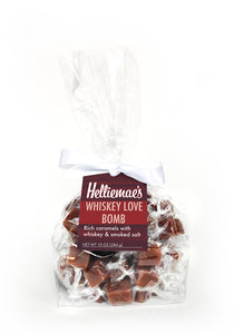 Whiskey Love Bomb Caramels