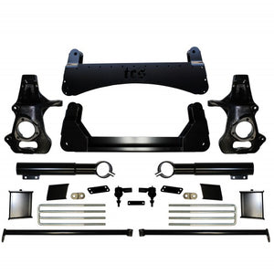 2007-2013 7″ CHEVY / GMC 6LUG SUV 2WD LIFT KIT WITH AUTO-RIDE