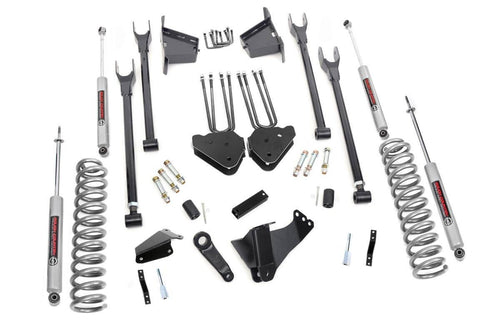 8IN FORD 4-LINK SUSPENSION LIFT KIT (05-07 F-250/350 4WD | DIESEL)