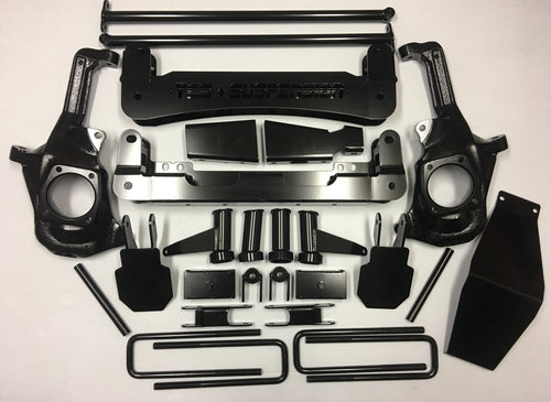 TCS 2011-2019 4″ CHEVY / GMC 2500HD/3500HD 2WD/4WD BASIC KIT