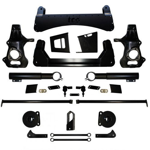 2007-2013 7″ CHEVY / GMC SUV 4WD LIFT KIT W/ AUTO-RIDE