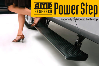 AMP Research 76254-01A PowerStep Electric Running Boards Plug N Play System for 2019-2020 Chevrolet/GMC Silverado/Sierra 1500, 2020 Chevrolet Silverado/GMC Sierra 2500/3500, Double and Crew Cab