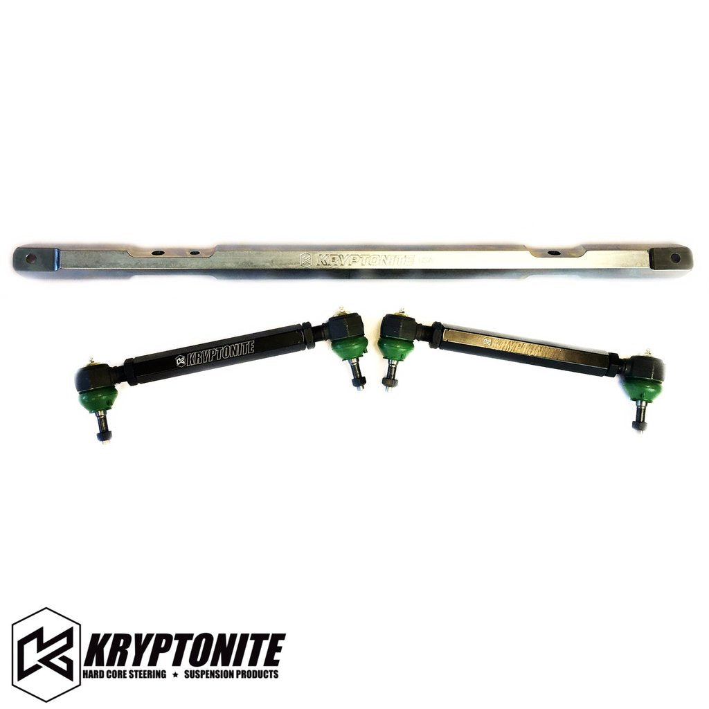 KRYPTONITE SS SERIES CENTER LINK TIE ROD PACKAGE 2001-2010 Chevy/GMC 2500/3500 HD