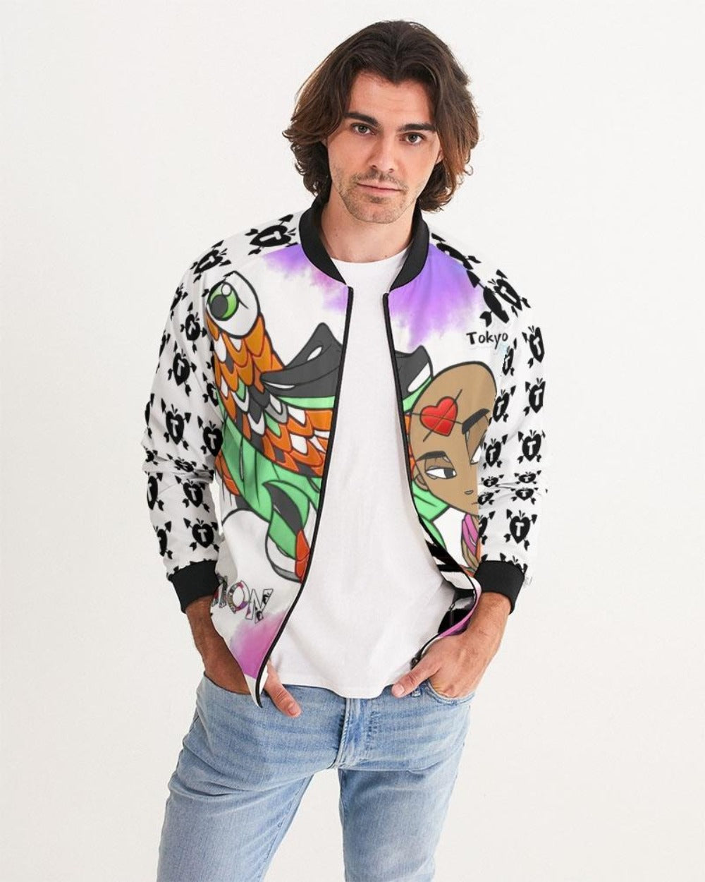 I'm Everything You Think Of Me... Plus More. Bomber Jacket