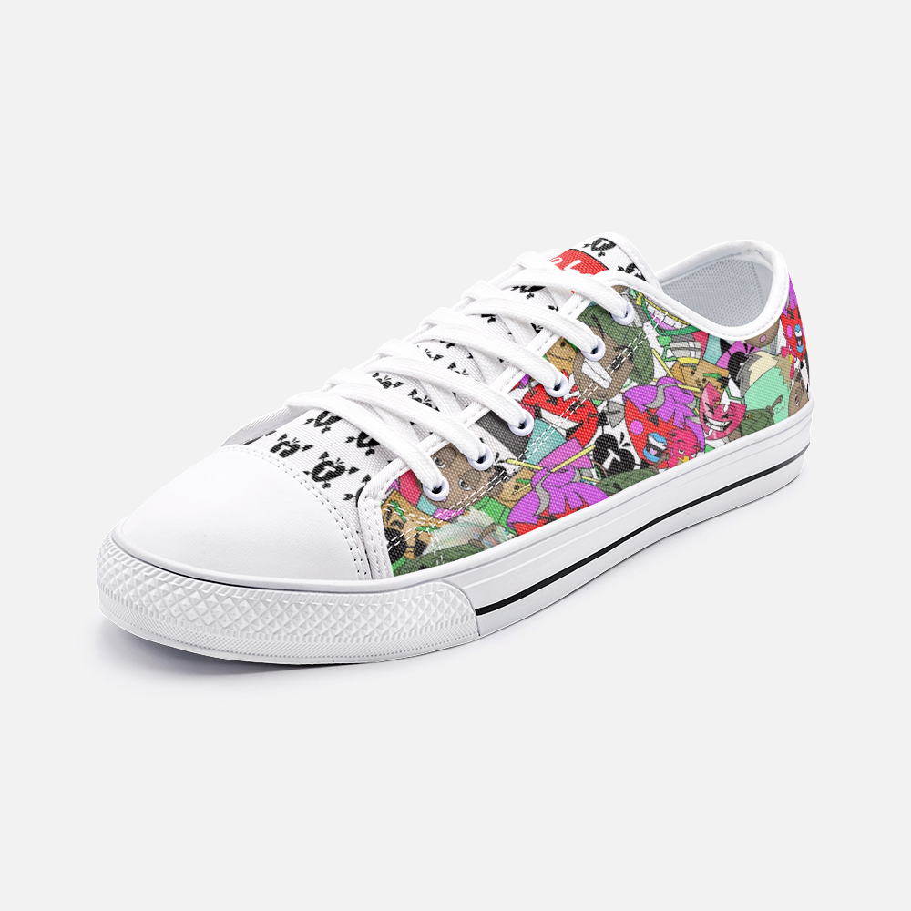 TKR1'S Low Top Canvas Shoes