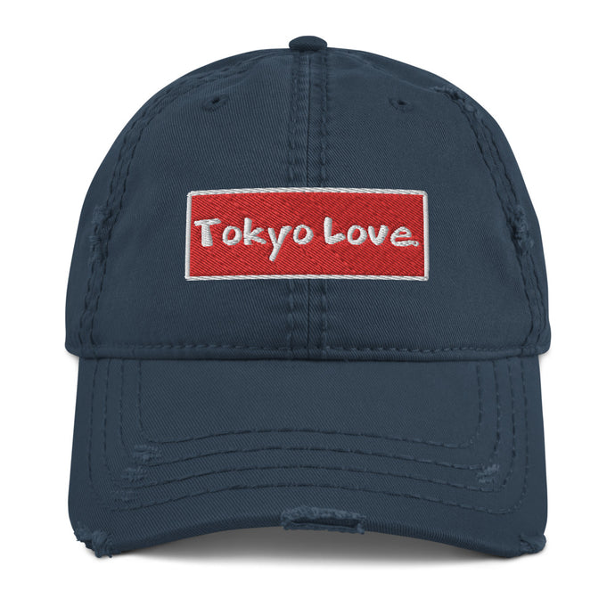 TOKYOLOVE Distressed Dad Hat