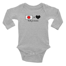 Load image into Gallery viewer, Tokyolove Flagship Logo Infant Long Sleeve Bodysuit