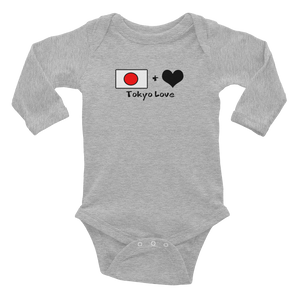 Tokyolove Flagship Logo Infant Long Sleeve Bodysuit