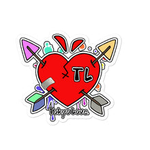 Load image into Gallery viewer, DRUNK IN LOVE Tokyolove logo stickers