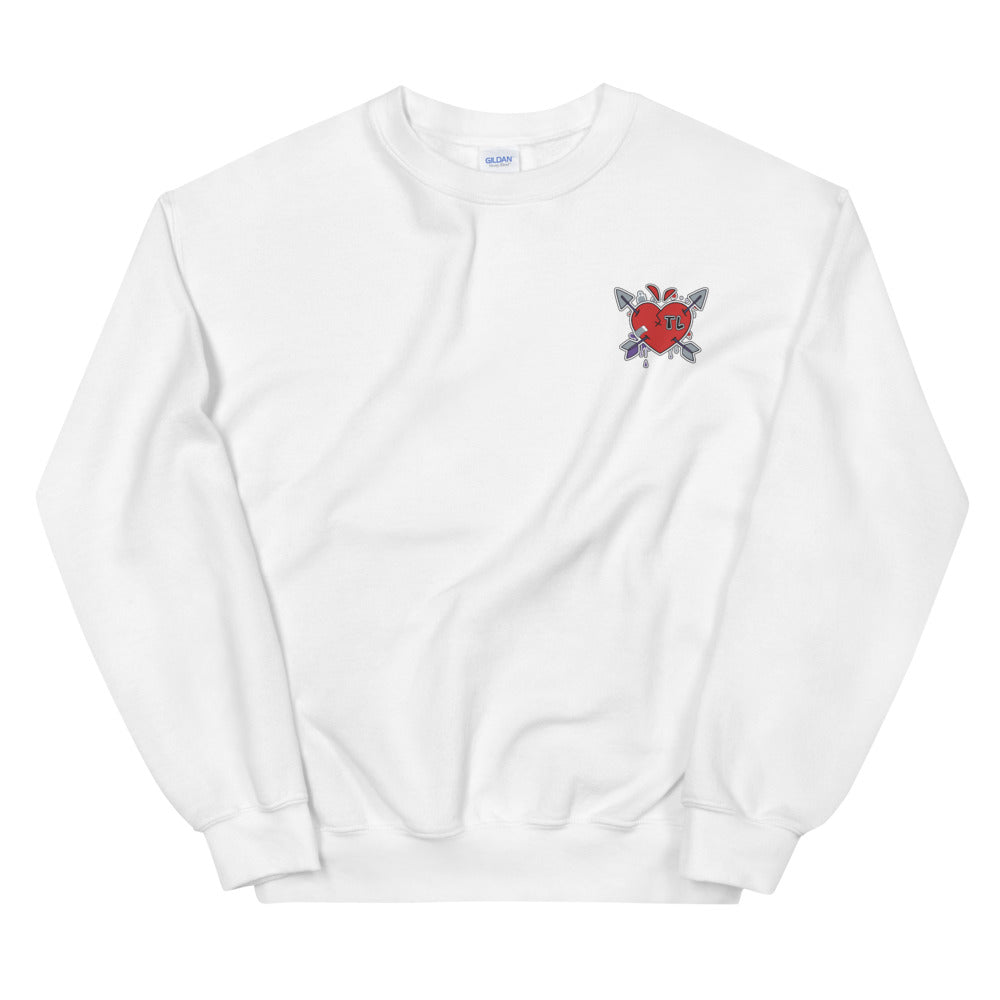 DRUNK IN LOVE Tokyolove Embroidered Logo Sweatshirt