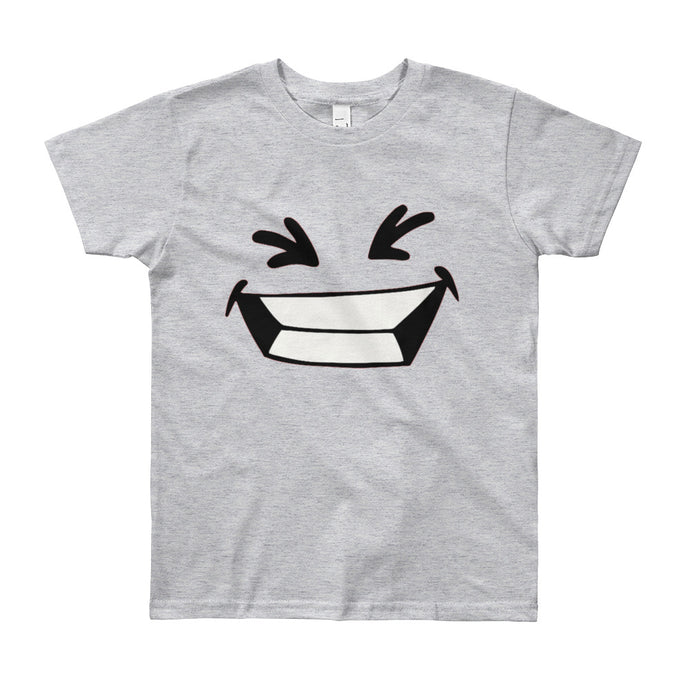 Akio Face #1 Youth Short Sleeve T-Shirt-kids