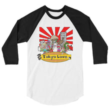 Load image into Gallery viewer, Squad Up 3/4 sleeve raglan shirt