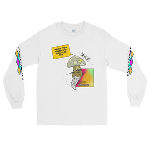 MASTER SHROOM - STAY WOKE Long Sleeve T-Shirt