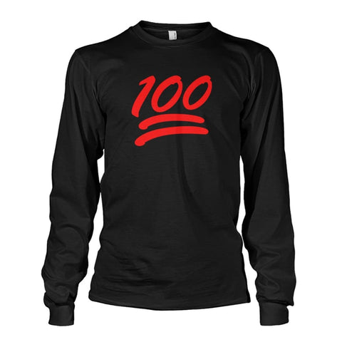 100 Long Sleeve - Black / S - Long Sleeves